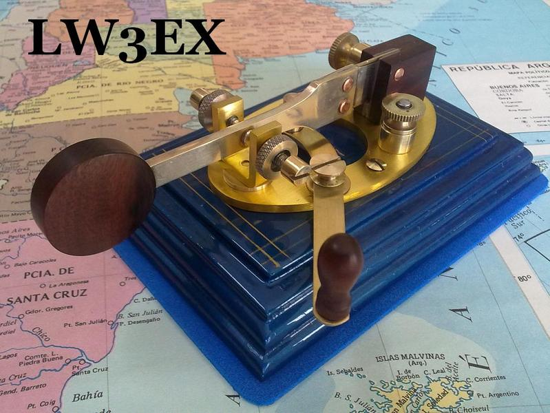 QSL image for LW3EX