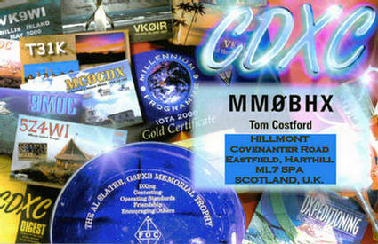 QSL image for MM0BHX