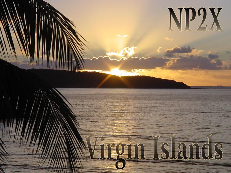 QSL image for NP2X