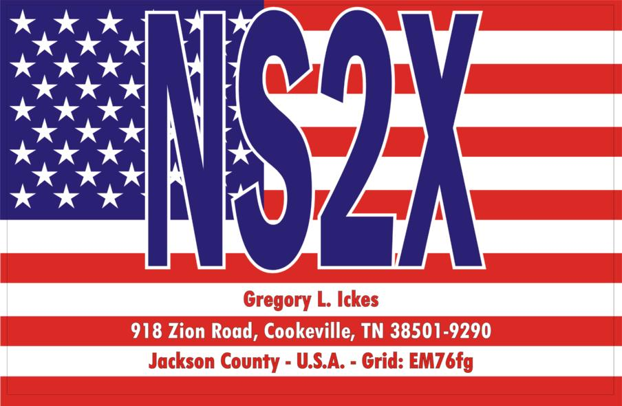QSL image for NS2X