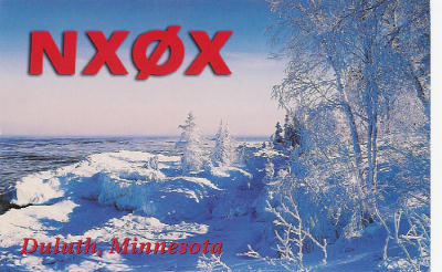 QSL image for NX0X
