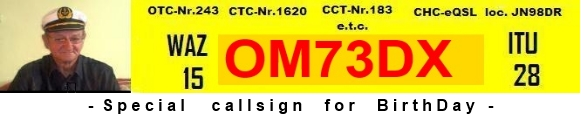 QSL image for OM7DX