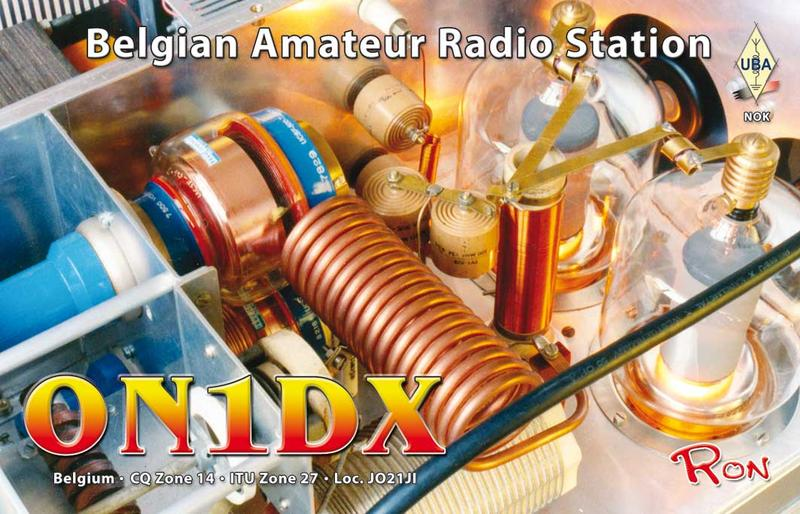 QSL image for ON1DX