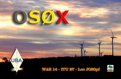 QSL image for OS0X