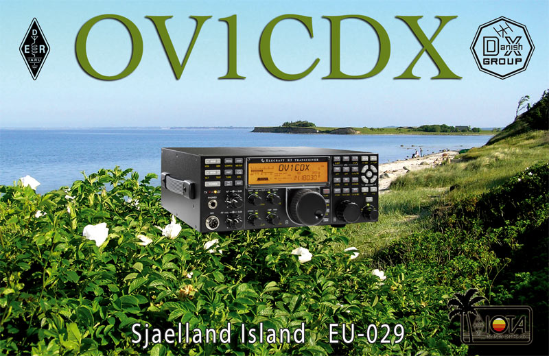 QSL image for OV1CDX