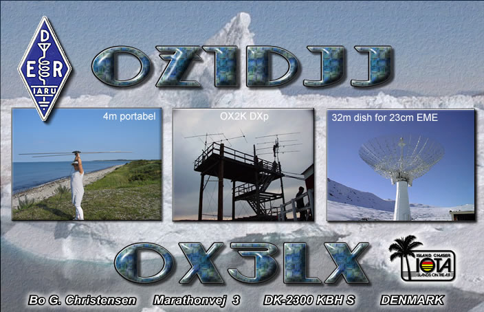 QSL image for OX3LX