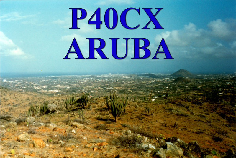 QSL image for P40CX