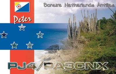 QSL image for PA3CNX