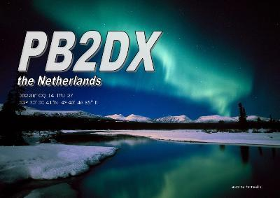 QSL image for PB2DX