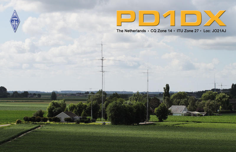 QSL image for PD1DX
