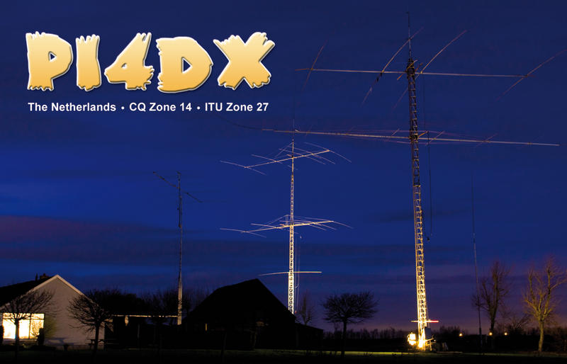 QSL image for PI4DX