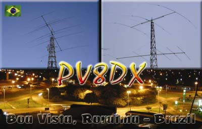QSL image for PV8DX