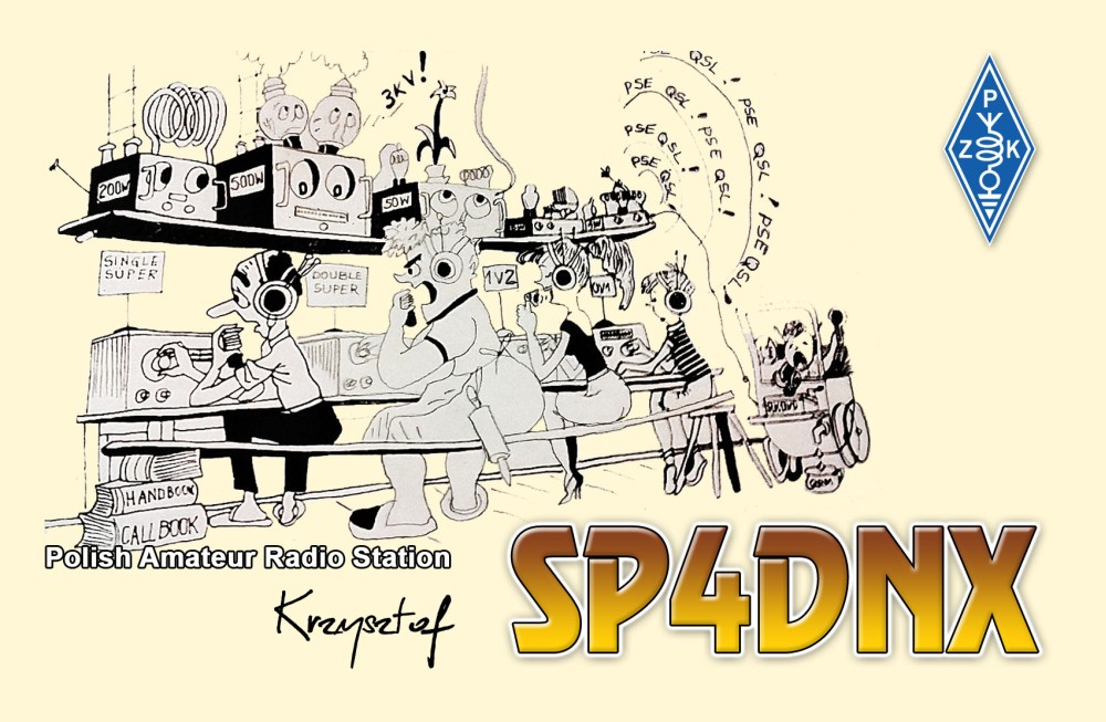 QSL image for SP4DNX