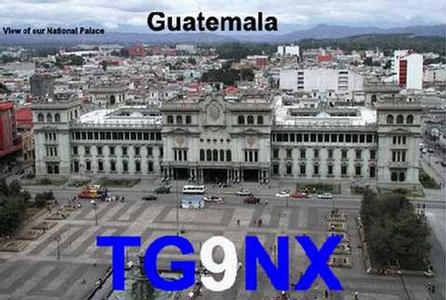 QSL image for TG9NX