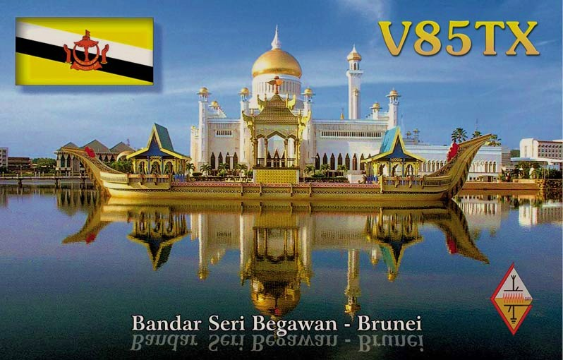 QSL image for V85TX