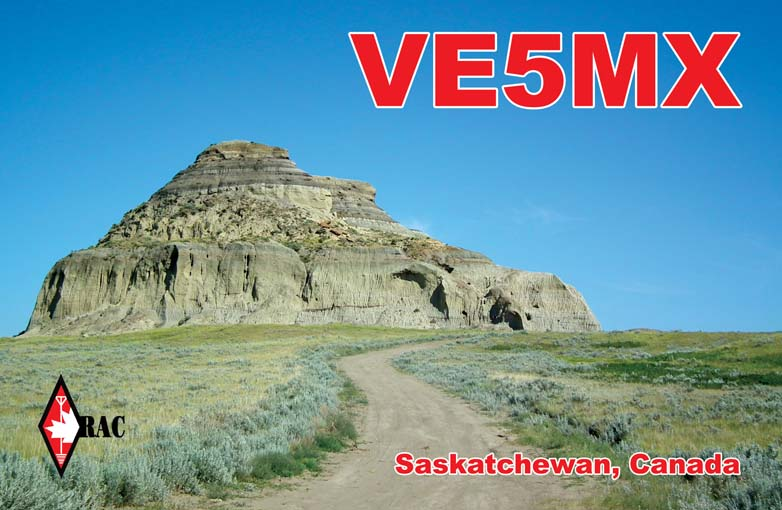 QSL image for VE5MX