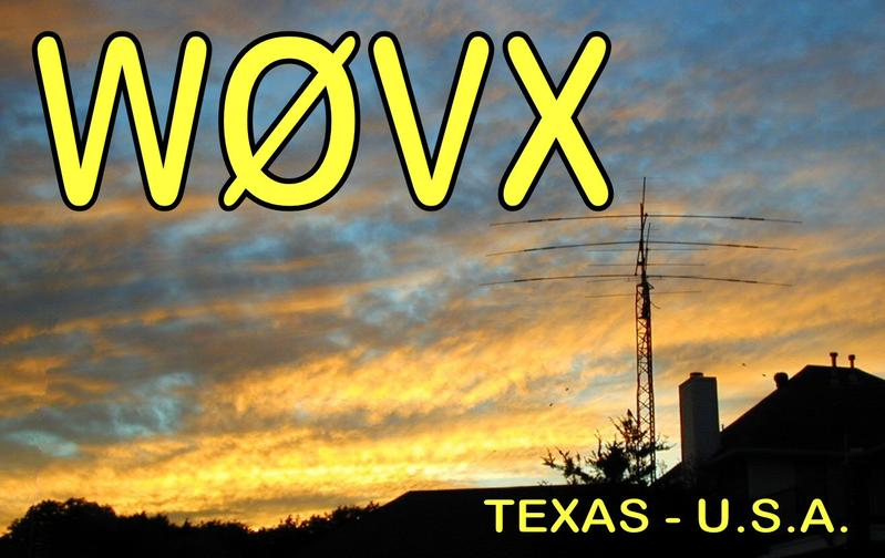 QSL image for W0VX