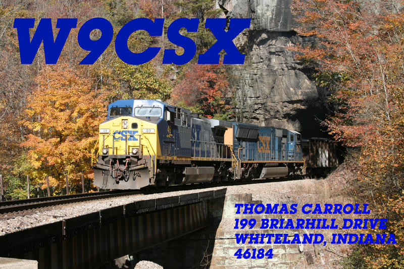 QSL image for W9CSX