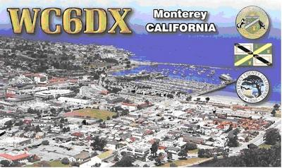 QSL image for WC6DX