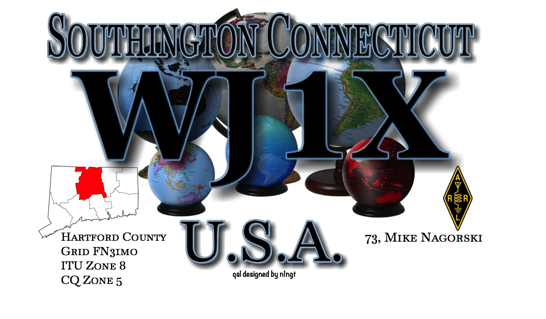 QSL image for WJ1X