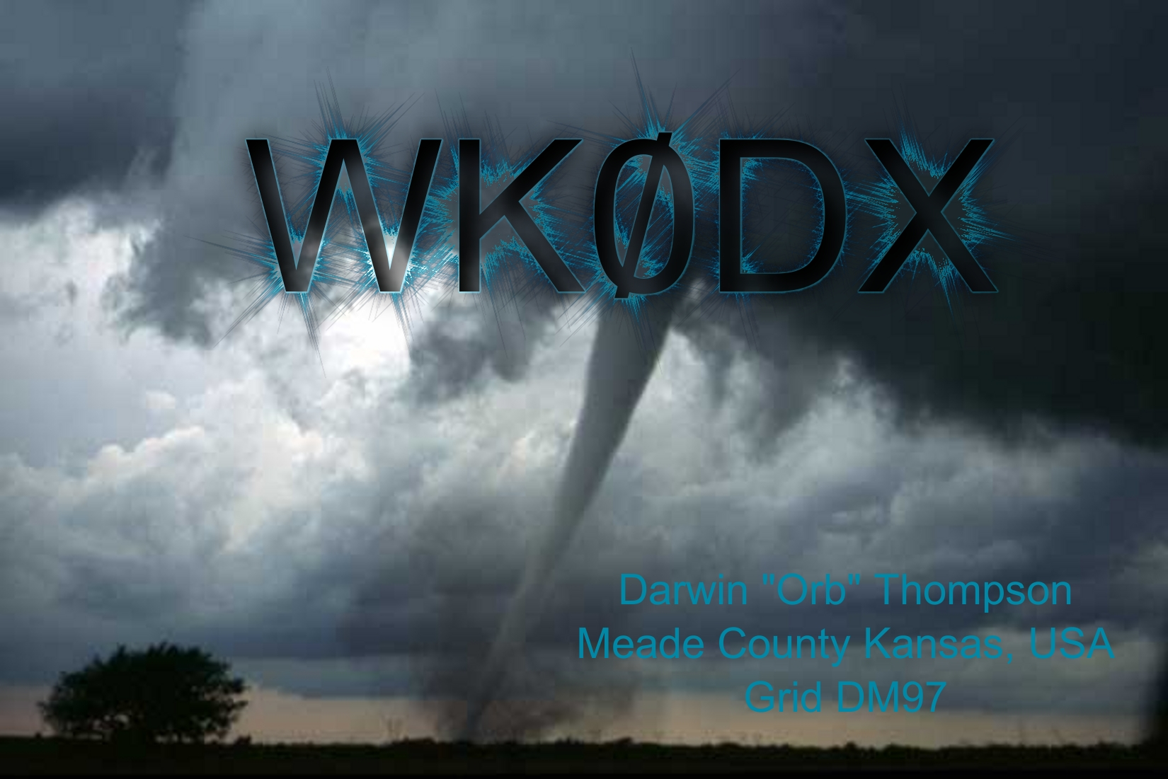 QSL image for WK0DX