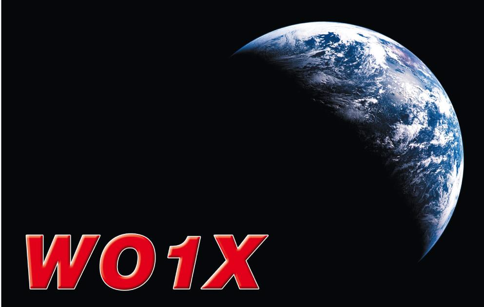 QSL image for WO1X