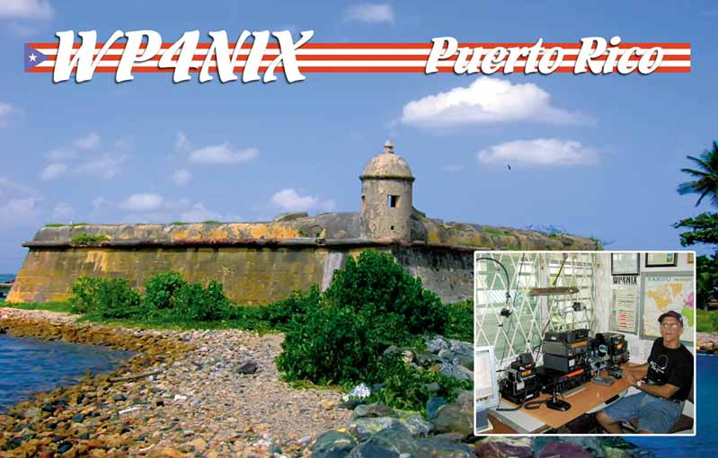 QSL image for WP4NIX