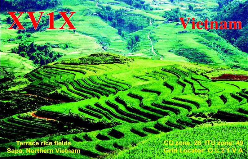 QSL image for XV1X