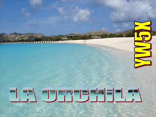QSL image for YW5X