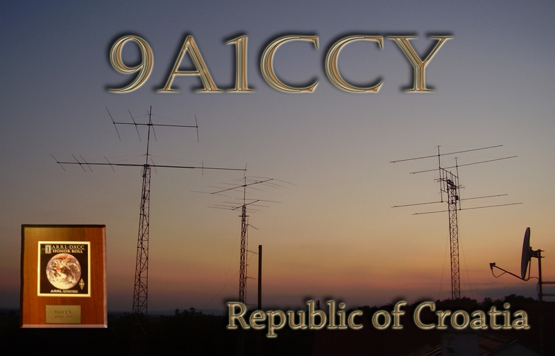 QSL image for 9A1CCY