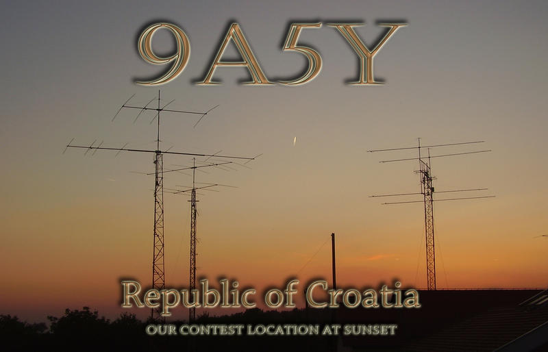 QSL image for 9A5Y