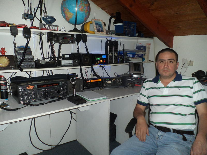 QSL image for CE7SOY