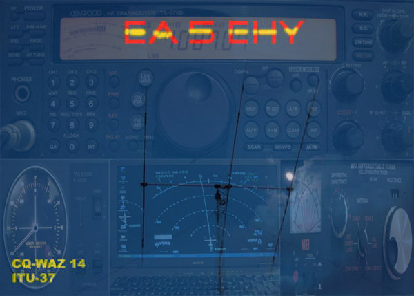 QSL image for EA5EHY