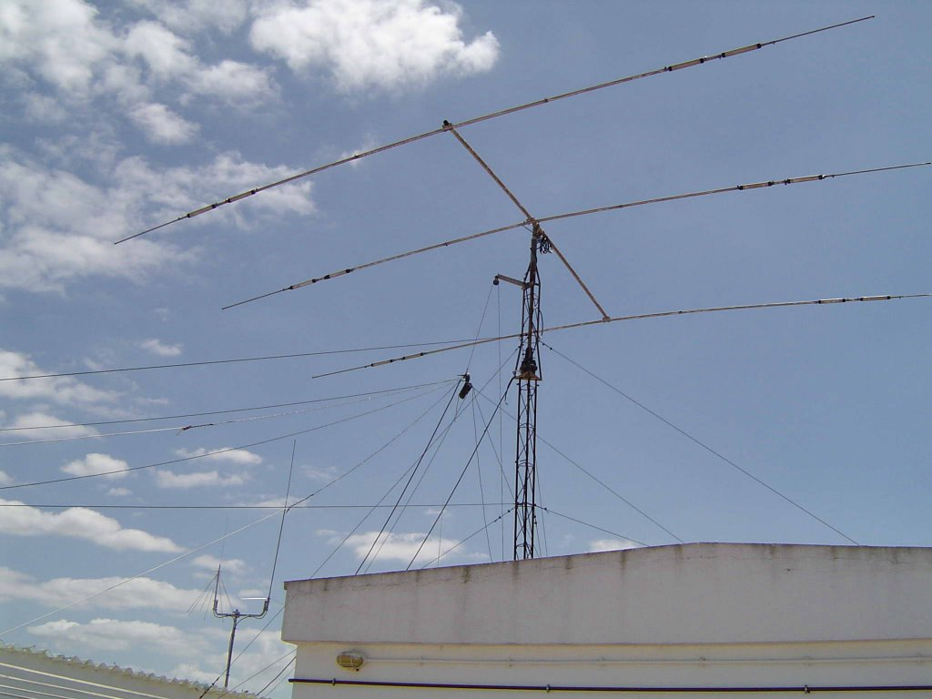 My old antenna system.