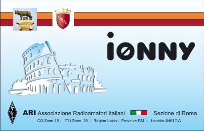 QSL image for I0NNY