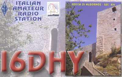 QSL image for I6DHY
