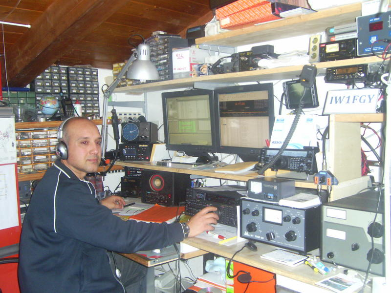 QSL image for IW1FGY