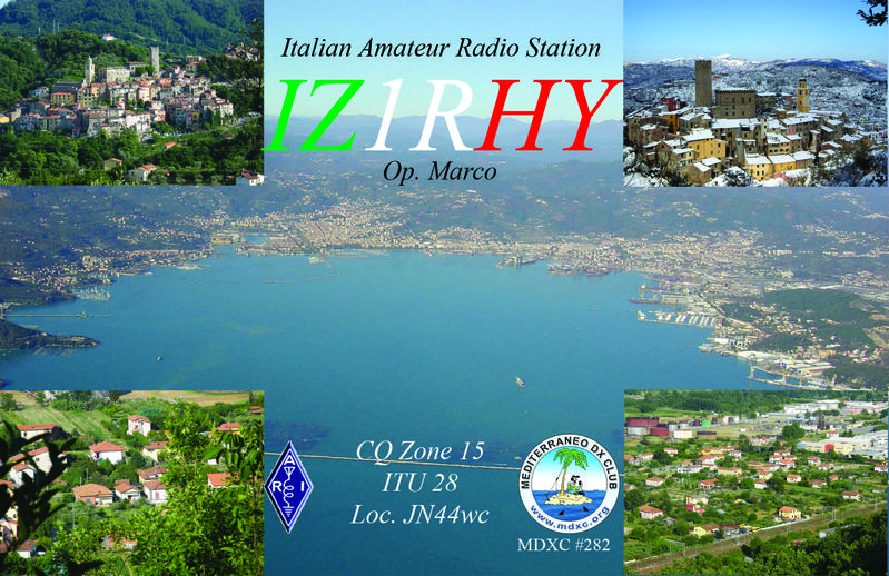 QSL image for IZ1RHY