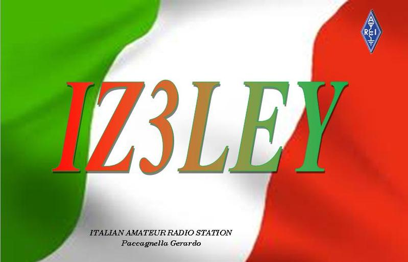 QSL image for IZ3LEY