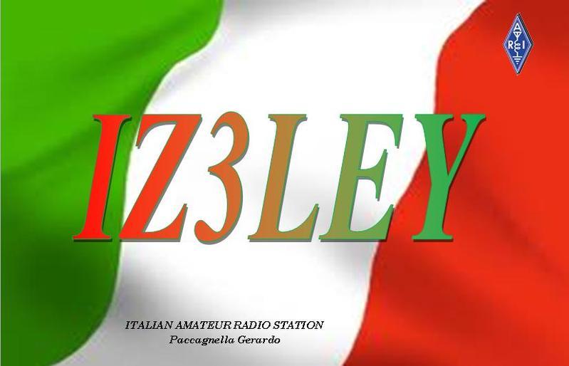 QSL image for IZ3LEY