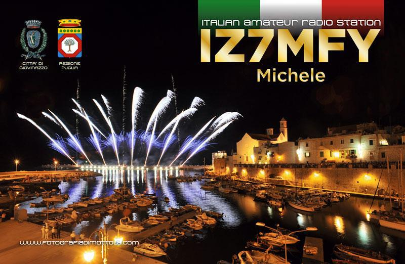 QSL image for IZ7MFY