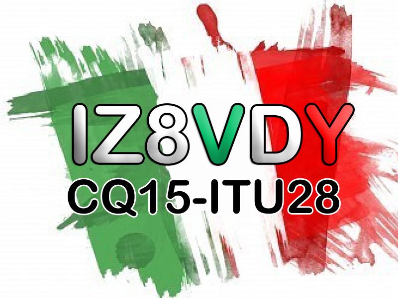QSL image for IZ8VDY