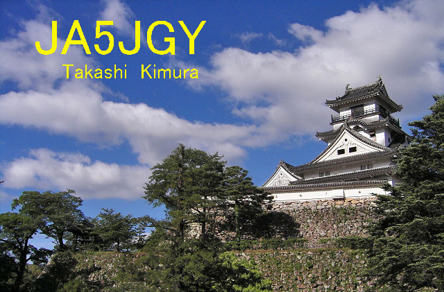QSL image for JA5JGY