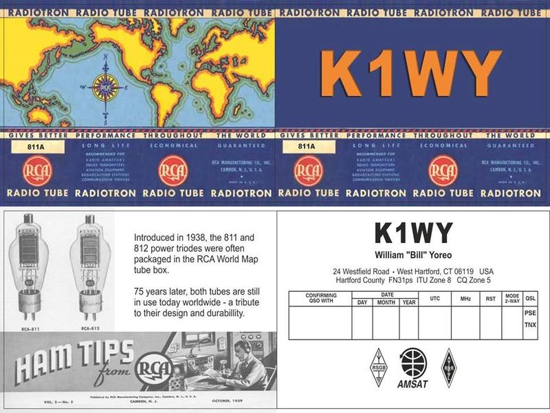 QSL image for K1WY