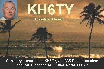 QSL image for KH6TY