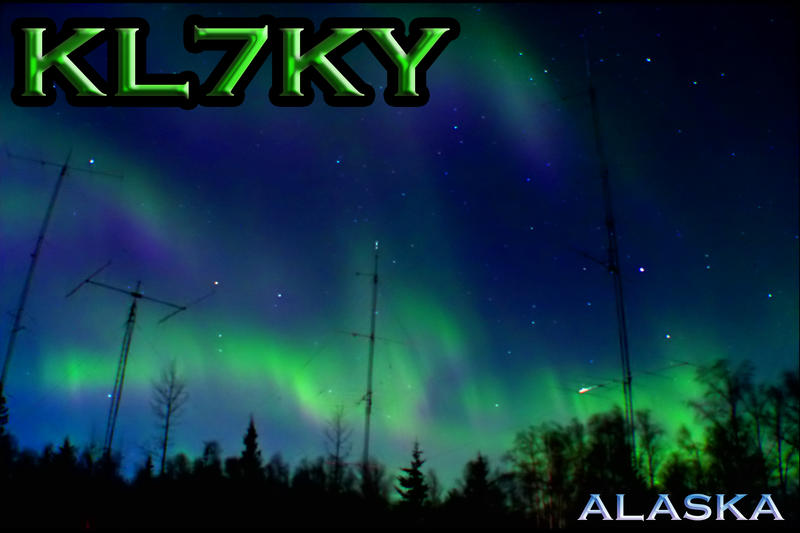 QSL image for KL7KY