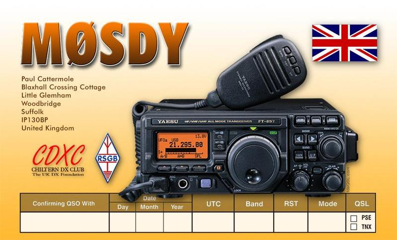 QSL image for M0SDY