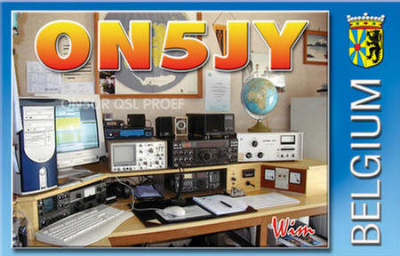 QSL image for ON5JY