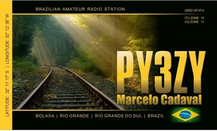 QSL image for PY3ZY