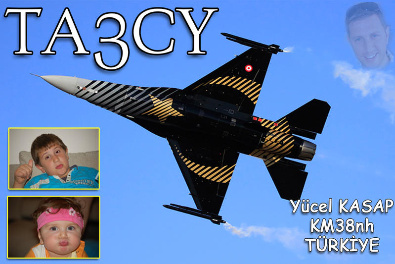 QSL image for TA3CY
